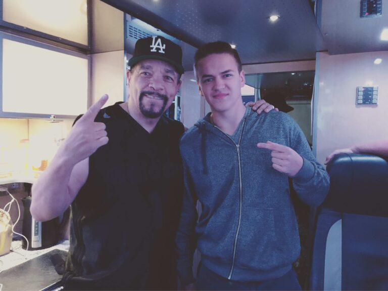 Sebastien Debaenst Meeting Ice-T