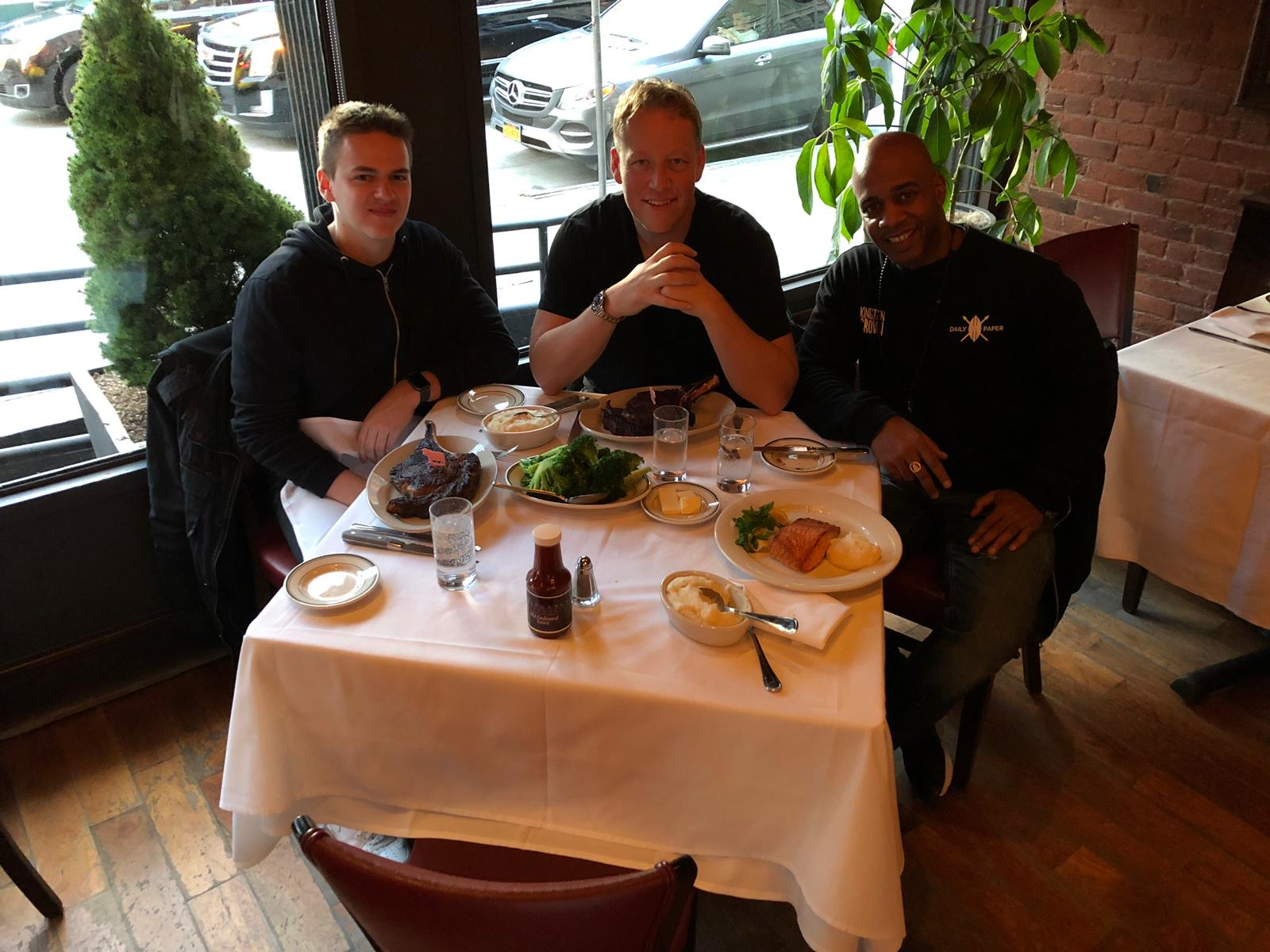 Sebastien Debaenst New York With Eelco de Boer and Deams