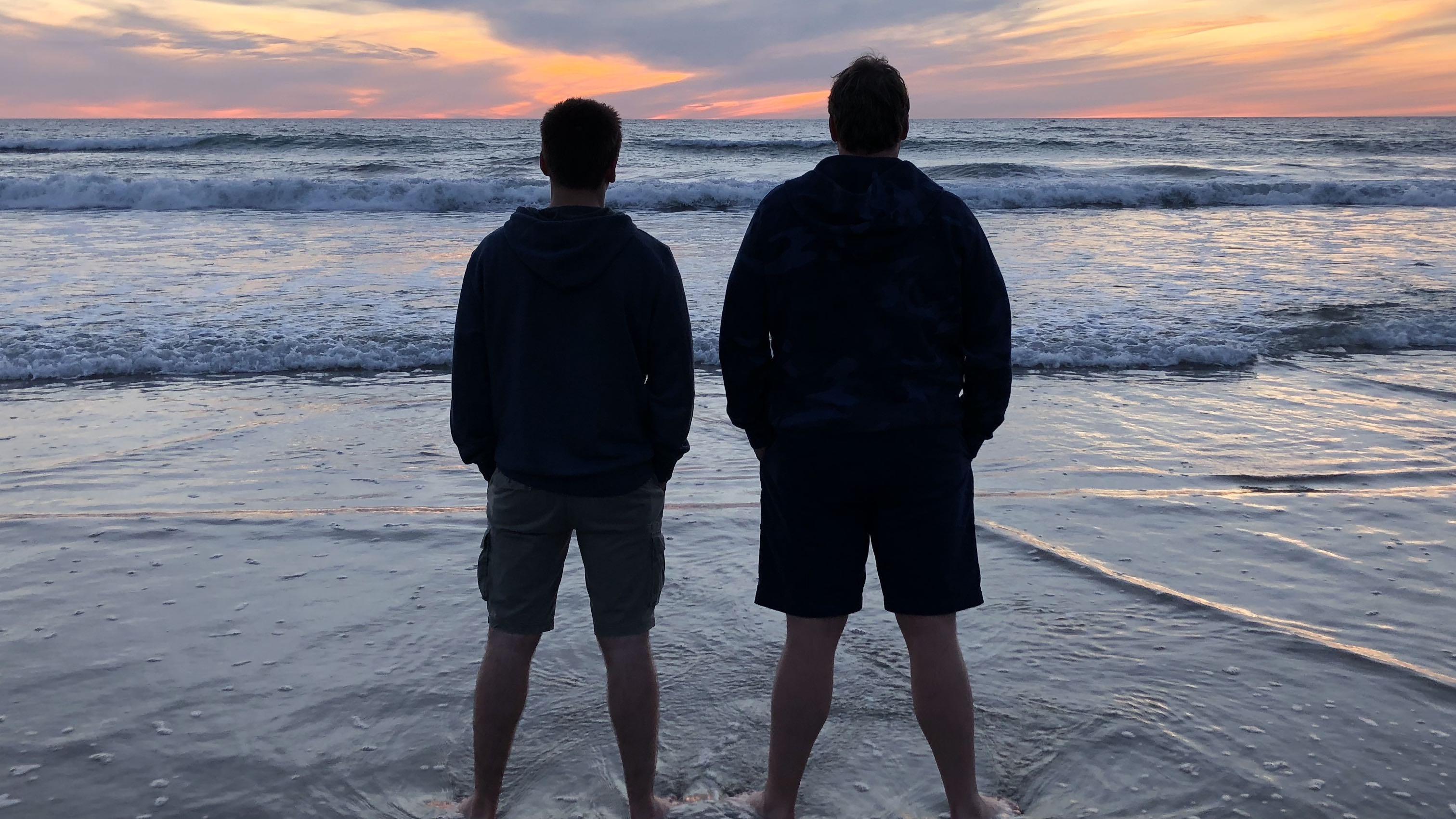 Sebastien Debaenst and Eelco de Boer San Diego Sunset